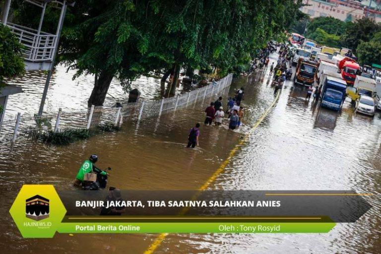 Banjir Jakarta, Tiba Saatnya Salahkan Anies - Berdaulat